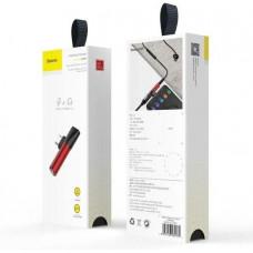 Baseus audio rozbočovač L41 s koncovkami USB-C samec / USB-C samice /3,5mm Jack samice