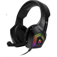 Connect IT BATTLE RGB Ed. 3 herní sluchátka s mikrofonem, ČERNÁ
