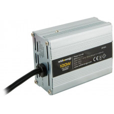 WHITENERGY WE Měnič napětí DC/AC 12V / 230V, 100W, USB, mini