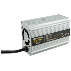 WHITENERGY WE Měnič napětí DC/AC 12V / 230V, 200W, USB