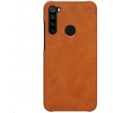Nillkin Qin Leather Case for Xiaomi Redmi Note 8 Brown