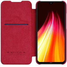 Nillkin Qin Leather Case for Xiaomi Redmi Note 8 Red