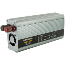 WHITENERGY WE Měnič napětí DC/AC 12V / 230V, 800W, USB