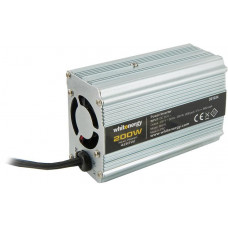 WHITENERGY WE Měnič napětí DC/AC 24V / 230V, 200W, USB