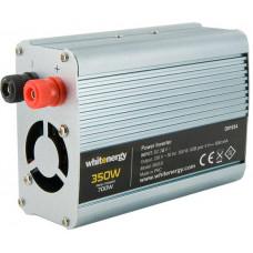 WHITENERGY WE Měnič napětí DC/AC 24V / 230V, 350W, USB
