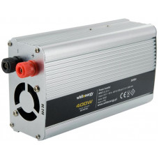 WHITENERGY WE Měnič napětí DC/AC 24V / 230V, 400W, USB