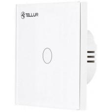 Tellur WiFi Smart Spínač, 1 porty, 1800 W, 10 A., bílý