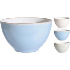 miska 460ml BÉŽ lem porcelánová mix barev
