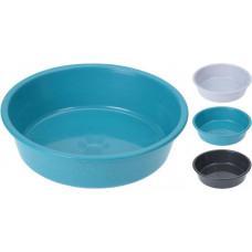 miska pro zvířata protiskluzová 17,5x4,5cm PH mix barev