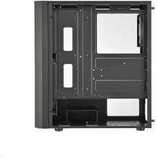 FORTRON/FSP FSP/Fortron ATX Midi Tower CMT211 Black, průhledná bočnice, A.RGB