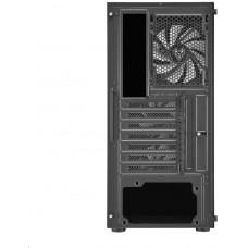 FORTRON/FSP FSP/Fortron ATX Midi Tower CMT211A Black, průhledná bočnice, A.RGB