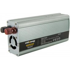 WHITENERGY WE Měnič napětí DC/AC 24V / 230V, 800W, USB