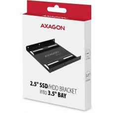 Axagon RHD-125B, kovový rámeček pro 1x 2.5
