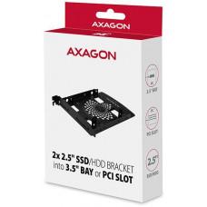 Axagon RHD-P25, hliníkový rámeček pro 2x 2.5