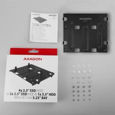 Axagon RHD-435, kovový rámeček pro 4x 2.5