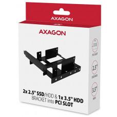 Axagon RHD-P35, kovový rámeček pro 2x 2.5