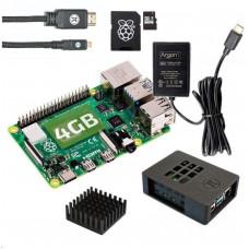 Raspberry Sada Zonepi RPi 4B/4GB (SDHC karta 32GB + adaptér, Pi 4 B, krabička, chladič, HDMI kabel