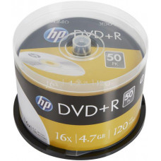 HP DVD+R HP 4,7 GB (120min) 16x 50-cake