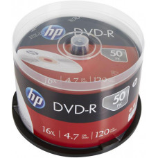HP DVD-R HP 4,7 GB (120min) 16x 50-cake