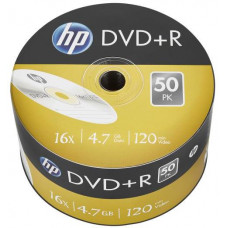 HP DVD+R HP 4,7 GB (120min) 16x 50-spindle bulk