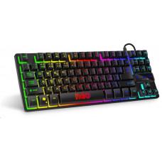 Connect IT NEO Compact klávesnice pro hráče , podsvícená, USB, (CZ+SK verze)