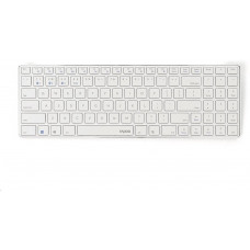 Rapoo klávesnice E9100M, bezdrátová, Ultra-slim, CZ/SK, bílá