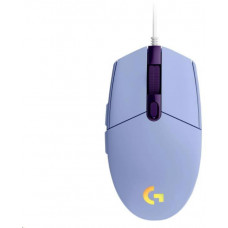 Logitech herní myš G102 2nd Gen LIGHTSYNC Gaming Mouse, USB, EER, Lilac