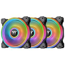 THERMALTAKE Riing Quad 12 RGB Radiator Fan (TT Premium Edition 3pack) ventilátor PWM - 120x25mm (3
