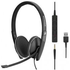 SENNHEISER SC 165 USB headset - oboustranná sluchátka s mikrofonem