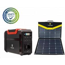 Viking bateriový generátor SB500 + solární panel L80