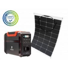 Viking bateriový generátor SB500 + solární panel LE100