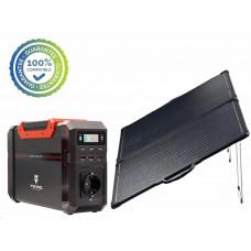 Viking bateriový generátor SB500 + solární panel LVP80