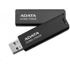A-Data ADATA Flash Disk 128GB UV360, USB 3.2 Gen1,  Kovový ,černá