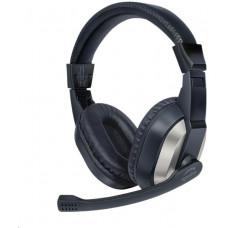 Speedlink SPEED LINK sluchátka SL-870020-BK THEBE Stereo Headset, černá