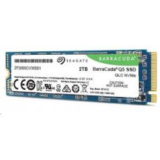 SEAGATE Barracuda Q5 ZP2000CV3A001 - SSD - 2 TB - interní - M.2 2280 - PCI Express 3.0 x4 (NVMe)