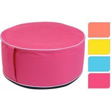 taburet/puf nafukovací pr.56x25cm mix barev
