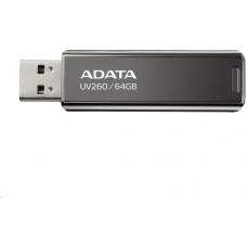 A-Data ADATA Flash Disk 32GB UV260, USB 3.2 Gen1,  Kovový ,černá