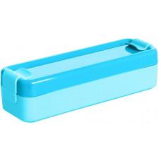 PLAST TEAM box svačinový 19,2x6,3x5cm s klick.uz. PH MO