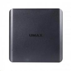 UMAX PC miniPC U-Box N42 Celeron N4120@1.1GHz, 4GB LPDDR4, 64GB, HDMI, VGA, USB 3.0, WiFi, Win10