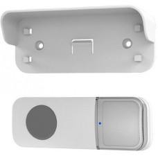 Solight bezdrátové tlačítko pro 1L67 sérii, 200m, bílé, learning code, kryt na jmenovku