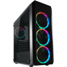 LC-POWER case Gaming 703B Quad-Lux Midi Tower, window, černá