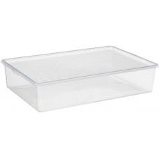 PLAST TEAM box na obuv 19l, 55x36,5x11,8cm s víkem PH TRA