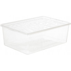 PLAST TEAM box na obuv  9,5l, 38,5x25,7x13,3cm s víkem PH TRA