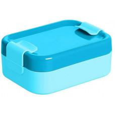 PLAST TEAM box svačinový 12,9x9,5x5cm s klick.uz. PH MO