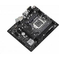 ASROCK H470M-HDV/M.2 (intel 1200, H470, 4xDDR4 2933MHz, PCIE+M.2, VGA+HDMI +DVI, 6xSATA3, USB3.2