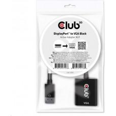 Club 3D Club3D adaptér aktivní DisplayPort na VGA