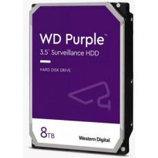 WD  WD84PURZ hdd 8TB SATA3-6Gbps třída 5640rpm PURPLE 128MB (řada PURPLE pro sledovací systémy a