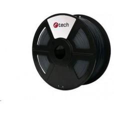 C-Tech Tisková struna (filament) ABS, 1,75mm, 1kg, šedá