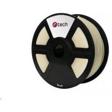 C-Tech Tisková struna (filament) ABS, 1,75mm, 1kg, transparentní