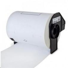 PrintLine kompatibilní s Brother DK-11241, bílé, velké poštovní štítky , 102 x 152mm, 200ks